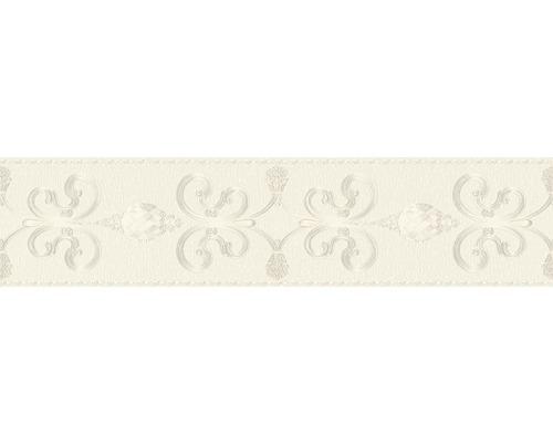 Frise autocollante pierre précieuse ivoire 5 m x 15 cm