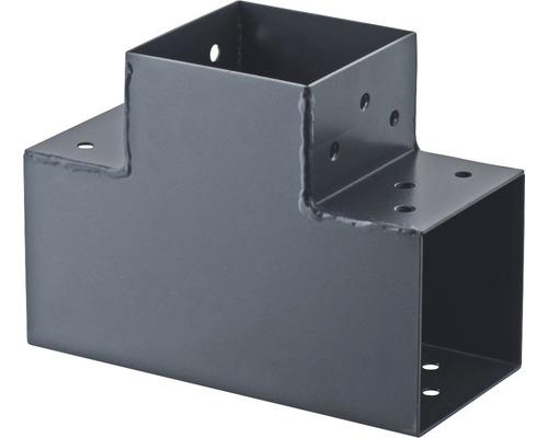 Steckverbinder TYP T 90x90 mm Verl. 90° anthrazit