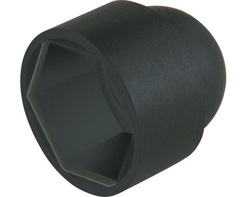 Cache pour vis six pans M10 noir 10 pièces-0
