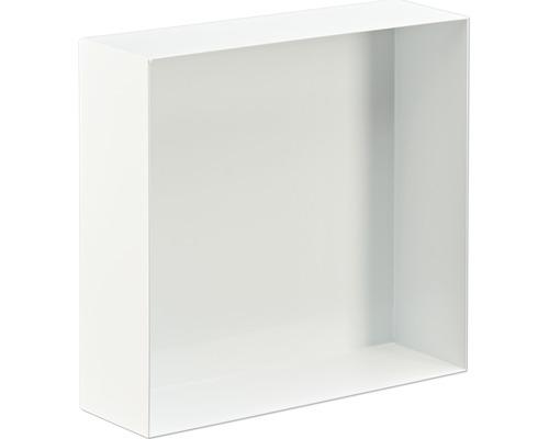 Badablage Design Box Wandeinbau 30x30 cm weiß