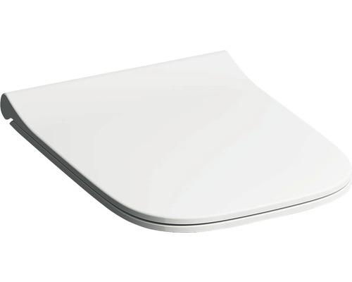 Keramag / GEBERIT WC-Sitz Smyle Square schmales Design weiß mit Absenkautomatik 500688011