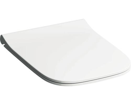Keramag / GEBERIT WC-Sitz Smyle Square weiß schmales Design Sandwichform mit Absenkautomatik 500240011