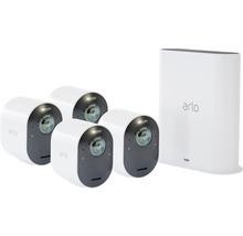 Système de vidéosurveillance Arlo Ultra 4K-UHD sans câble avec 4 caméras (VMS5440)-thumb-0
