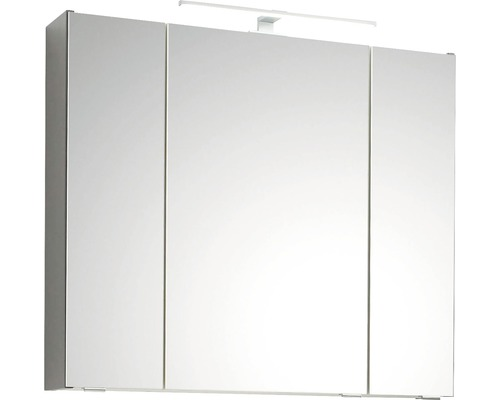 Spiegelschrank pelipal Capri Saskia II 80 cm Quarzgrau matt