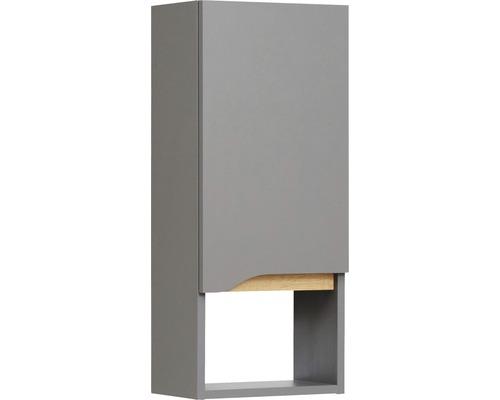 Armoire suspendue Pelipal Capri 70x30cm gris quartz