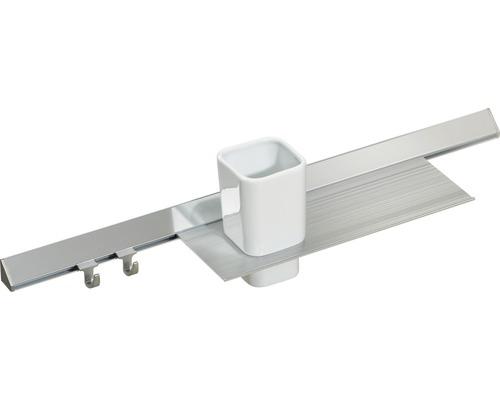 Barre de fonctions Pelipal Capri 50cm coloris aluminium