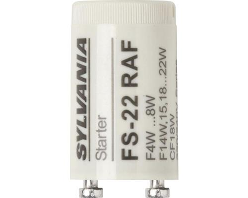 Starter FS 22 blanc circuit duo pour ampoules fluorescentes