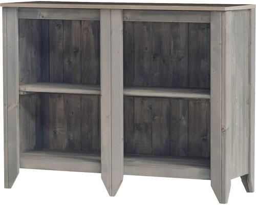 Armoire à outils/Cuisine d''extérieur Konsta type 559 Buffet 115x40x88 cm gris clair