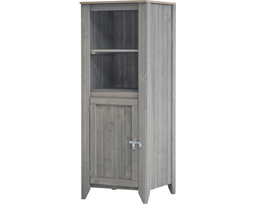 Armoire à outils/Cuisine d''extérieur Konsta type 559 Armoire haute avec porte 60x60x160 cm gris clair