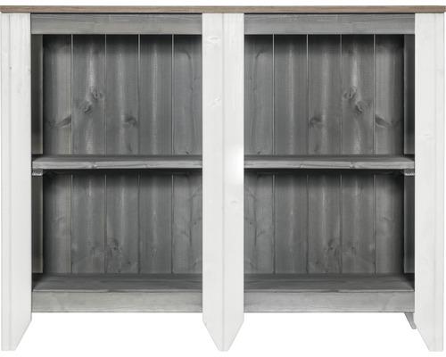 Armoire à outils/Cuisine d''extérieur Konsta type 561 Buffet 115x40x88 cm gris clair-crème