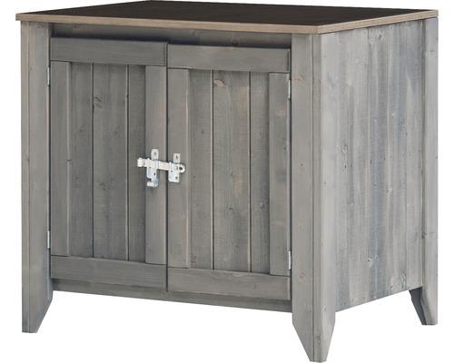 Armoire à outils/Cuisine d''extérieur Konsta type 559 Buffet avec 2 portes 80x60x73 cm gris clair