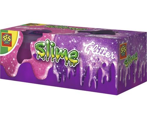 Kit créatif pâte slime Paillettes 2x120 g