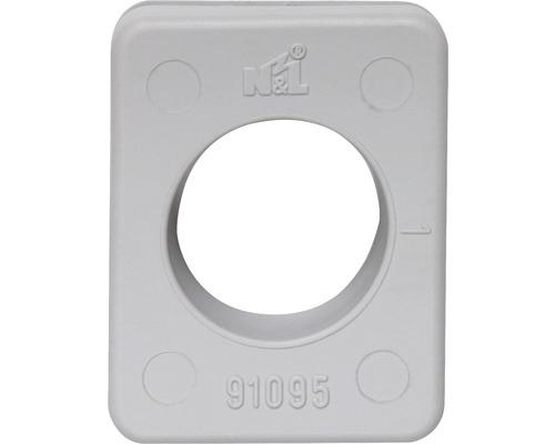 Pièce de raccordement grise pour pose en saillie pièce humide programme d'interrupteur IP54