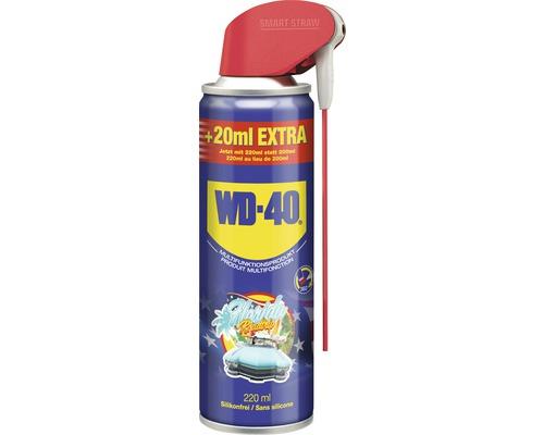Lubrifiant en aérosol WD-40 200 ml Smart Straw + 20% GRATUIT
