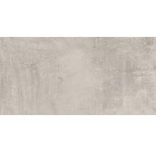 Carrelage de sol et mural en grès cérame fin New Concrete gris mat 30x60cm-thumb-0