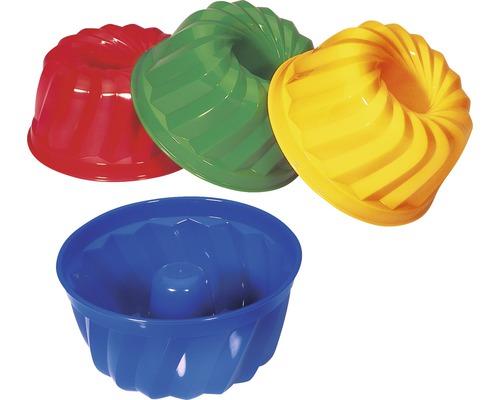 Moule à sable Spielstabil kouglof, choix de couleurs aléatoire