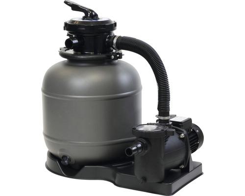 Installation filtrante 8,0m³/h 75,5x52,5x72cm polyéthylène 230V pour les bassins dont le volume atteint env. 40m³