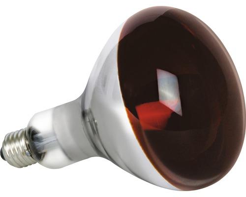 Réflecteur infrarouge IR R 125 E27/150W rouge, utilisation spéciale
