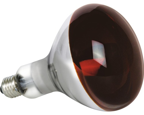 Lampe infrarouge IR PAR38 E27/175W rouge, utilisation spéciale