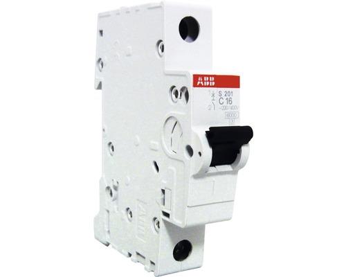 Disjoncteur automatique S201-C16 16A C 1 pôle