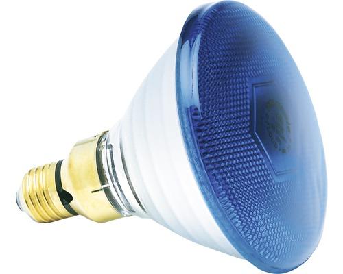 Réflecteur 80W/FL30° BLUE PAR38 bleu E27/80W pour accents lumineux