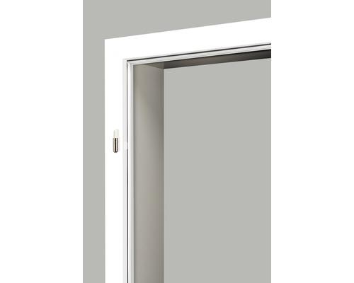 Cadre de porte à visser/Cadre de porte à châssis fixe Pertura CPL blanc (semblable à RAL 9010) 86,0x198,5 cm gauche/droite
