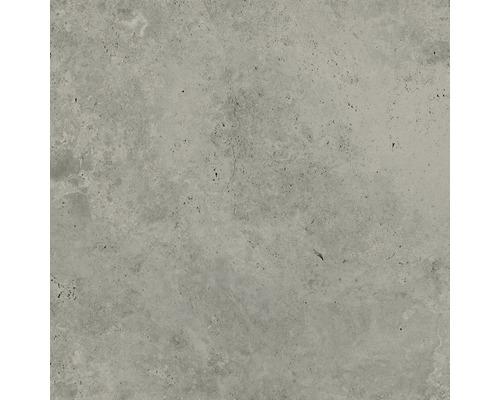 Carrelage mur et sol en grès cérame fin Candy light grey 79,8 x 79,8 cm rectifié
