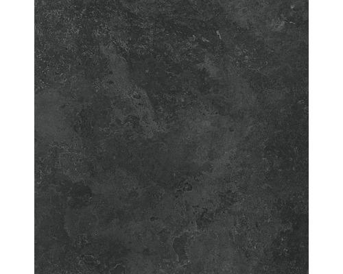Carrelage mur et sol en grès cérame fin Candy graphite lappato 119,8 x 119,8 cm rectifié