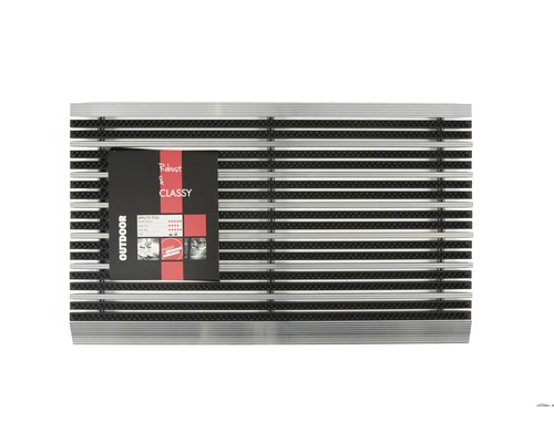 Paillasson en aluminium Avanti Style anthracite 45x75 cm