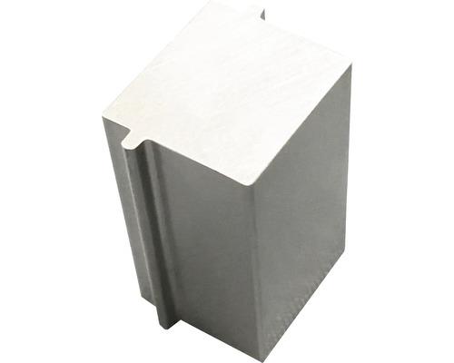 Abstandshalter Konsta WPC für Jalousienoptik 6 Stück aluminium