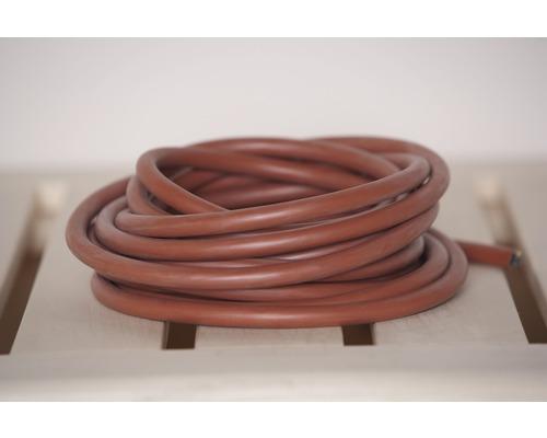 Jeu de câbles en silicone pour sauna Weka Profi 2,5 mm² 6,5 m pour poêles de sauna 3,6 kW et 4,5 kW