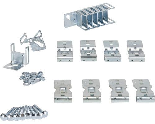 Set de fixations spécial ARON pour porte sectionnelle Classic (pack = 8 unités)