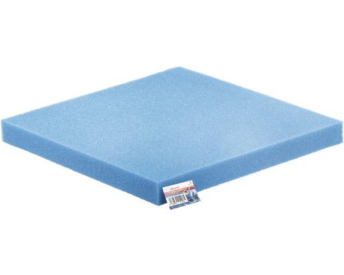 Mousse filtrante PAPILLON finement 50x50x5 cm bleu