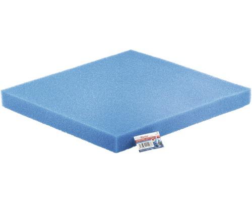 Mousse filtrante PAPILLON grossière 50x50x5 cm bleu