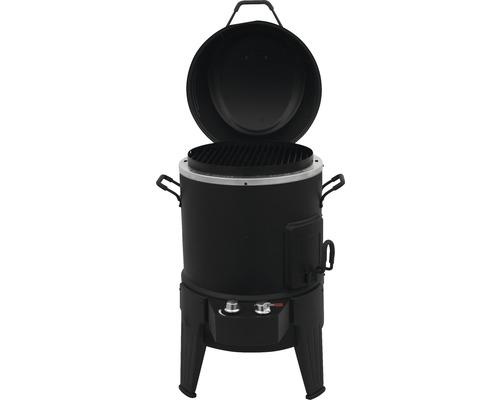 Barbecue à gaz 3en1 Char-Broil The Big Easy Smoker, Roaster & Grill (SRG) avec système de gril TRU-Infrared grille à barbecue revêtement porcelaine noir