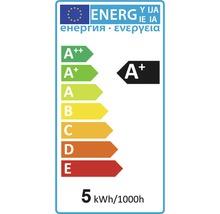 Ampoule à calotte réfléchissante FLAIR LED argent E14/4,5 W (34W) 380 Im 2700 K blanc chaud P45-thumb-1