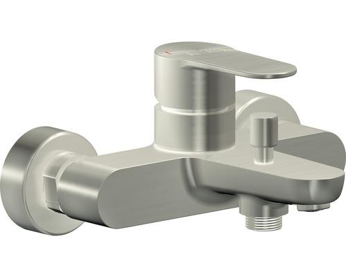 Mitigeur de baignoire AVITAL TERA acier inoxydable, certifié Société allemande de l''industrie du gaz et des eaux