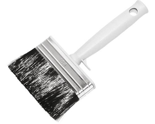 Pinceau plat ECO en fibres synthétiques gris 100 mm