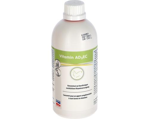 Aliments complémentaires pour animaux, concentré de vitamines AD3EC 500ml
