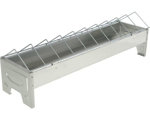 Mangeoire 50x10x15cm zinguée