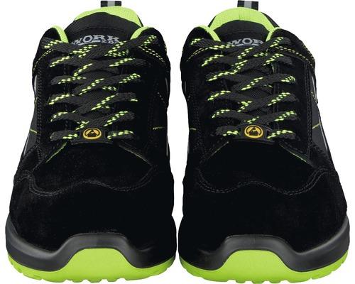 Chaussures de sécurité S1P noir/lime taille 41