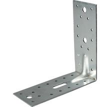 Cornière d''angle à charge lourde avec une nervure 150x150x65mm, galvanisée sendzimir, 1 unité-thumb-0