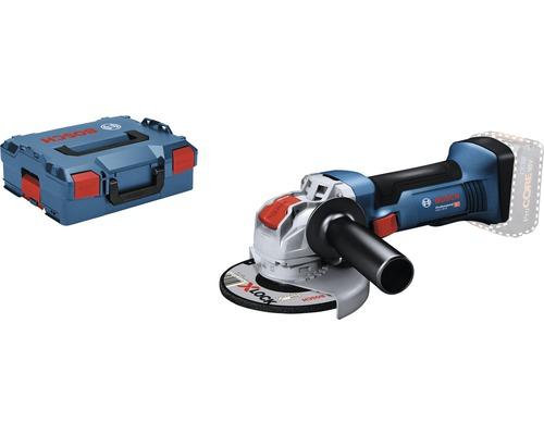 Meuleuse d'angle sans fil Bosch Professional avec X-LOCK GWX 18V-8 avec poignée supplémentaire et L-BOXX, sans batterie ni chargeur