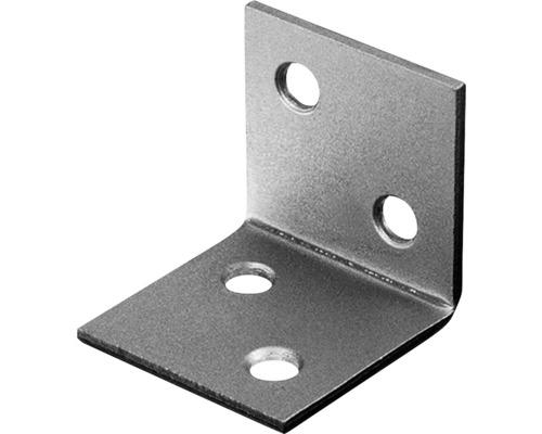 Angle large 40x40x40mm, acier inoxydable, 1 unité
