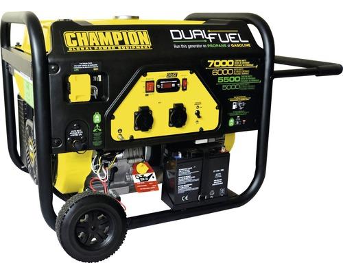 Stromerzeuger CPG7500E2 Dual-Fuel Benzin & Gas 7000W 2x 230V