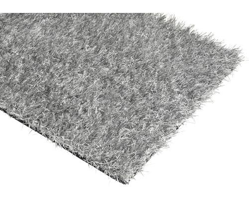 Gazon synthétique Happy gris largeur 200 cm (au mètre)