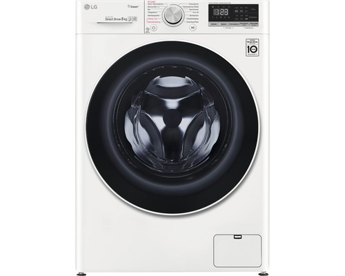 Machine à laver LG F4WV408S0 8 kg 1400 tr par min