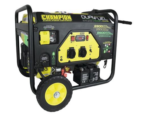 Stromerzeuger CPG3500E2 Dual-Fuel Benzin & Gas 2800W 2x 230V