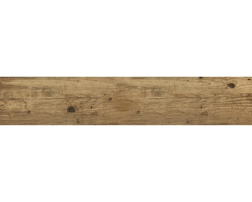 Feinsteinzeug Wand- und Bodenfliese Limewood Retro Eiche 23,3 x 120 cm