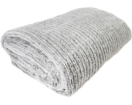 Decke Mian grau 150x200 cm